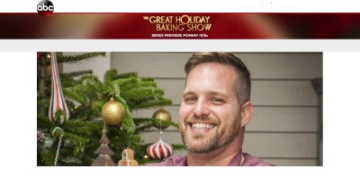 """Morey's Piers, Tim Samson will be featured on ABC's new TV show, """"The Great Holiday Baking Show"""" this Monday Night."""