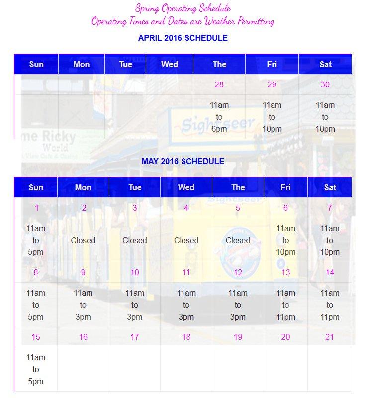 tramcar schedule2