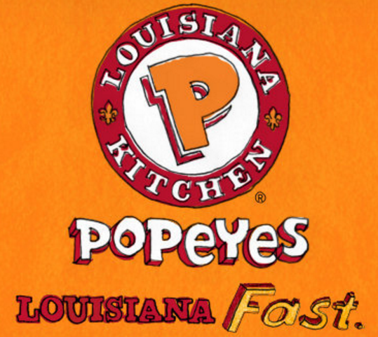 Popeyes Louisiana Kitchen Logo Beauteous Popeyes Louisiana Kitchen Coming To Wildwood Nj  The Boardwalk Inspiration