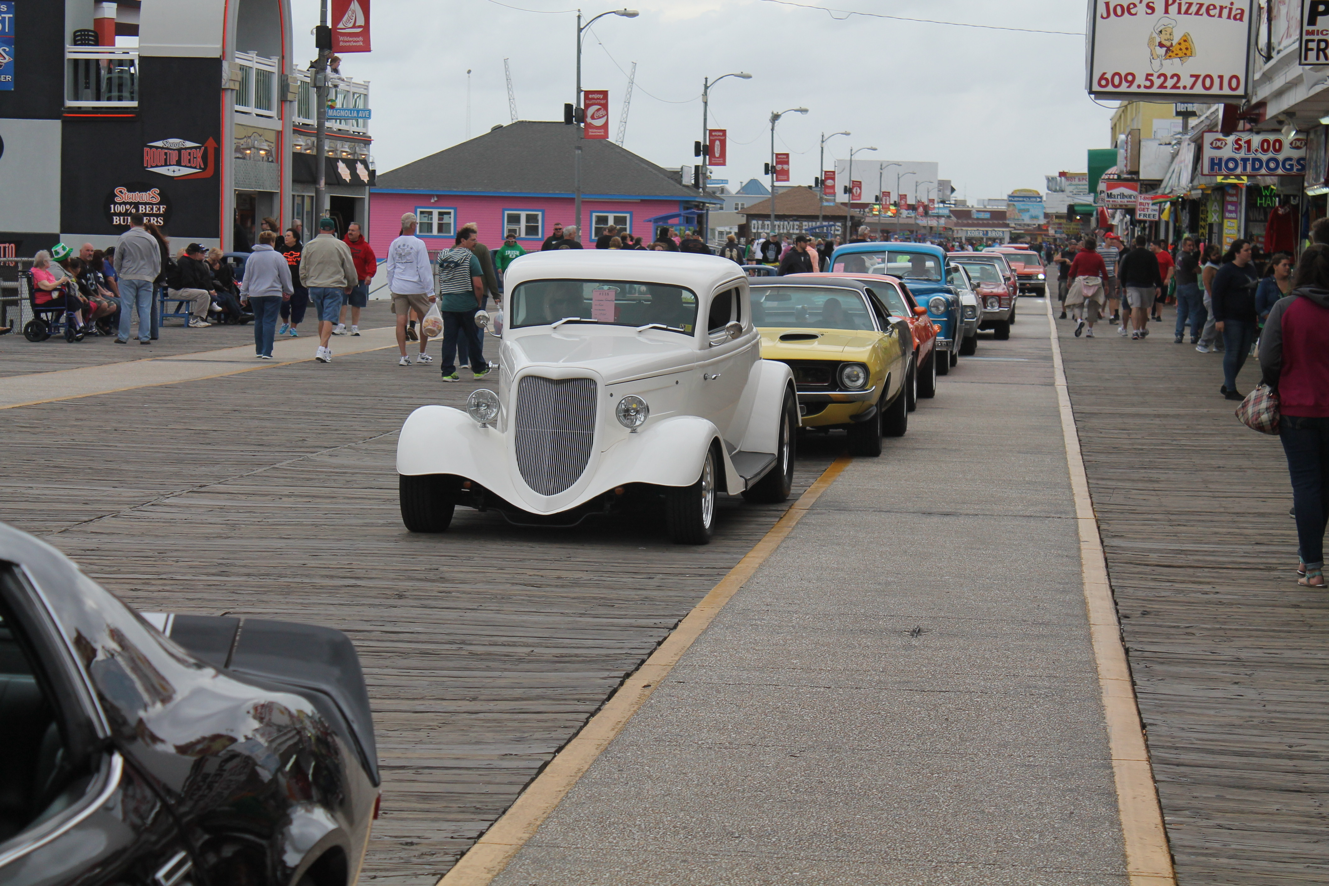 Spring Boardwalk Classic Car Show The - Wildwood car show